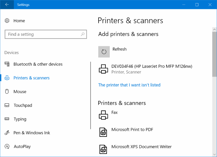 install a wireless printer