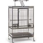 stainless steel playtop bird cage