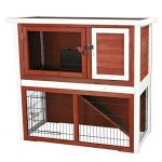 rabbit hutche with slope roof