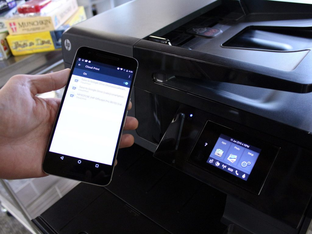 install a wireless printer
