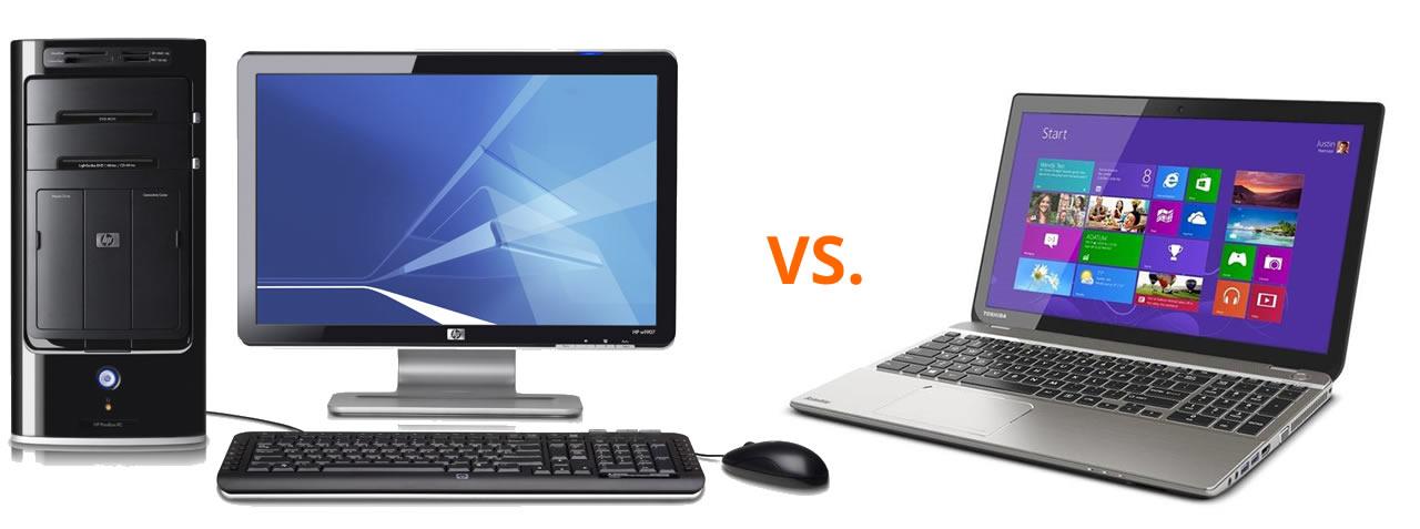 Desktop Computer VS Laptop Computer