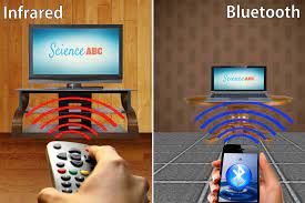 Differences Between Infrared and Bluetooth