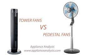 Differences Between Pedestal And Tower Fans