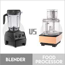 Differences Between Food Processors And Blenders