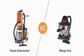 Differences Between Shop Vacs And Dust Extractors