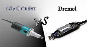 Differences Between Die Grinders And Dremel
